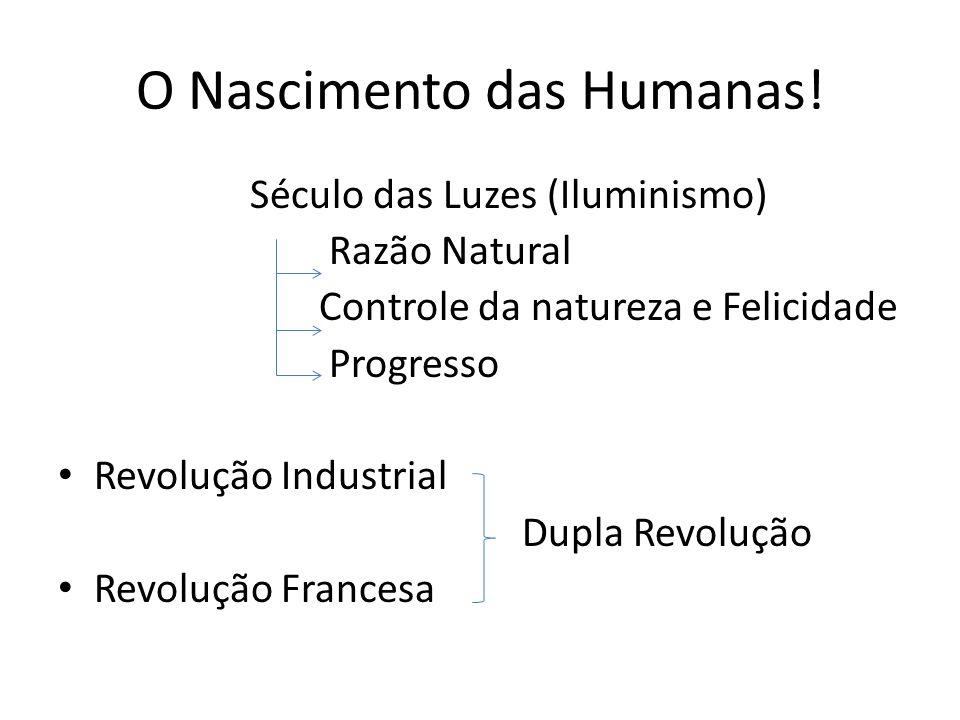 O Nascimento das Humanas!