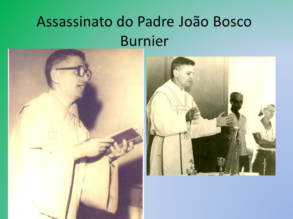 Assassinato do Padre João Bosco Burnier