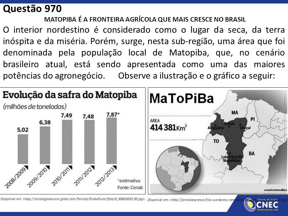 MATOPIBA É A FRONTEIRA AGRÍCOLA QUE MAIS CRESCE NO BRASIL