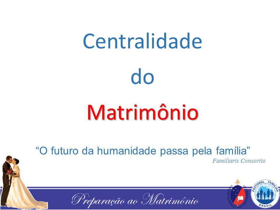 Centralidade do Matrimônio