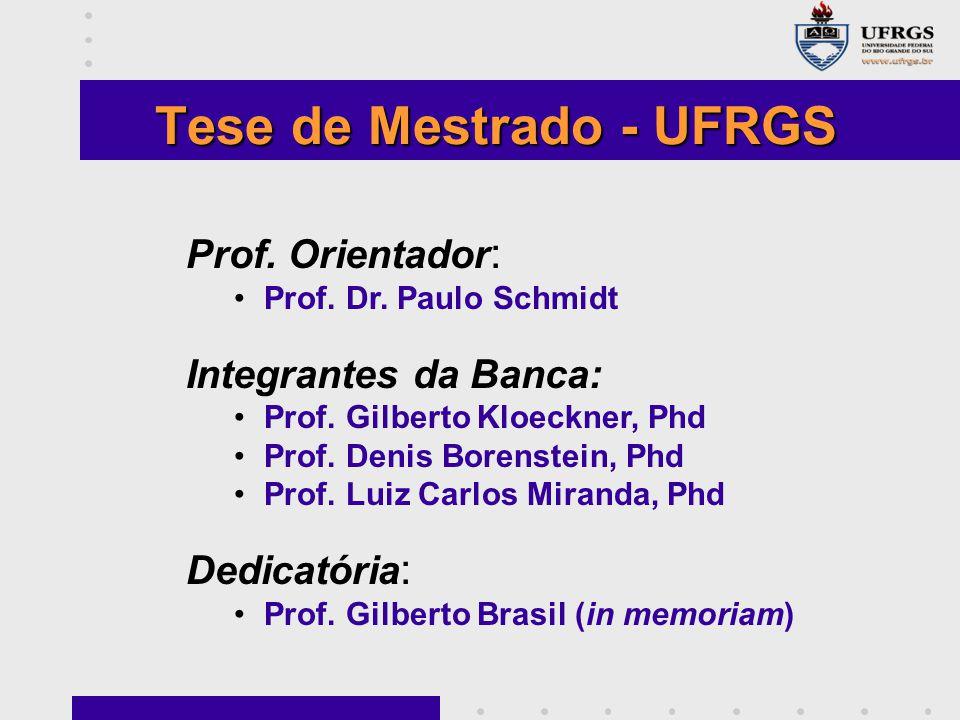 Tese de Mestrado - UFRGS