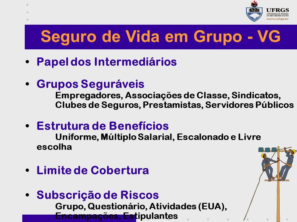 Seguro de Vida em Grupo - VG