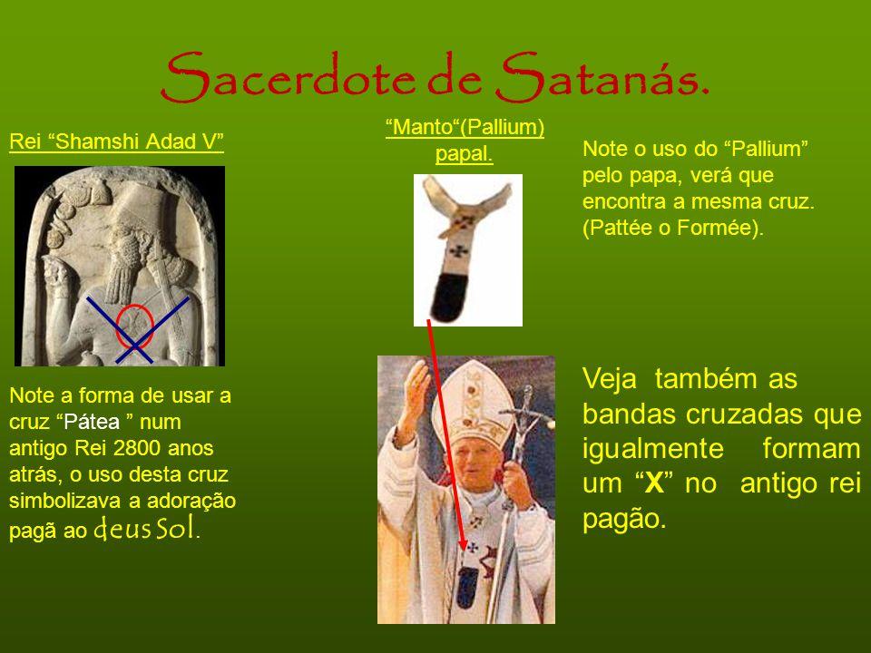 Manto (Pallium) papal.