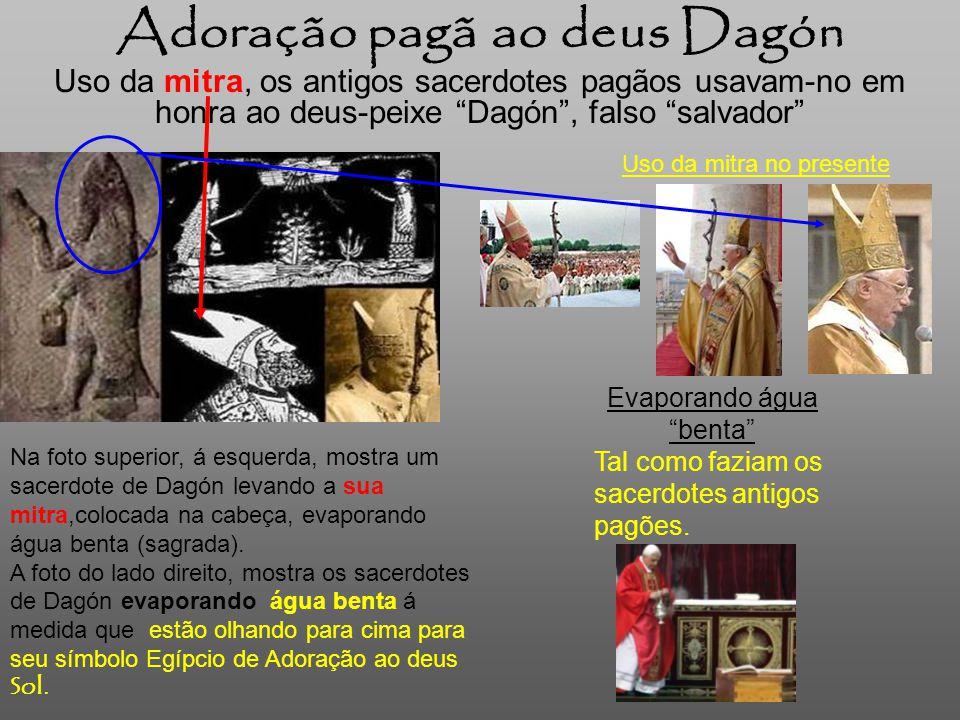 Adoração pagã ao deus Dagón