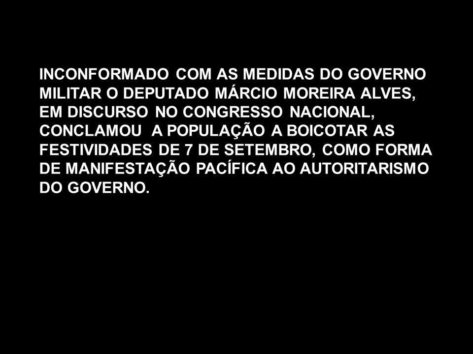 INCONFORMADO COM AS MEDIDAS DO GOVERNO