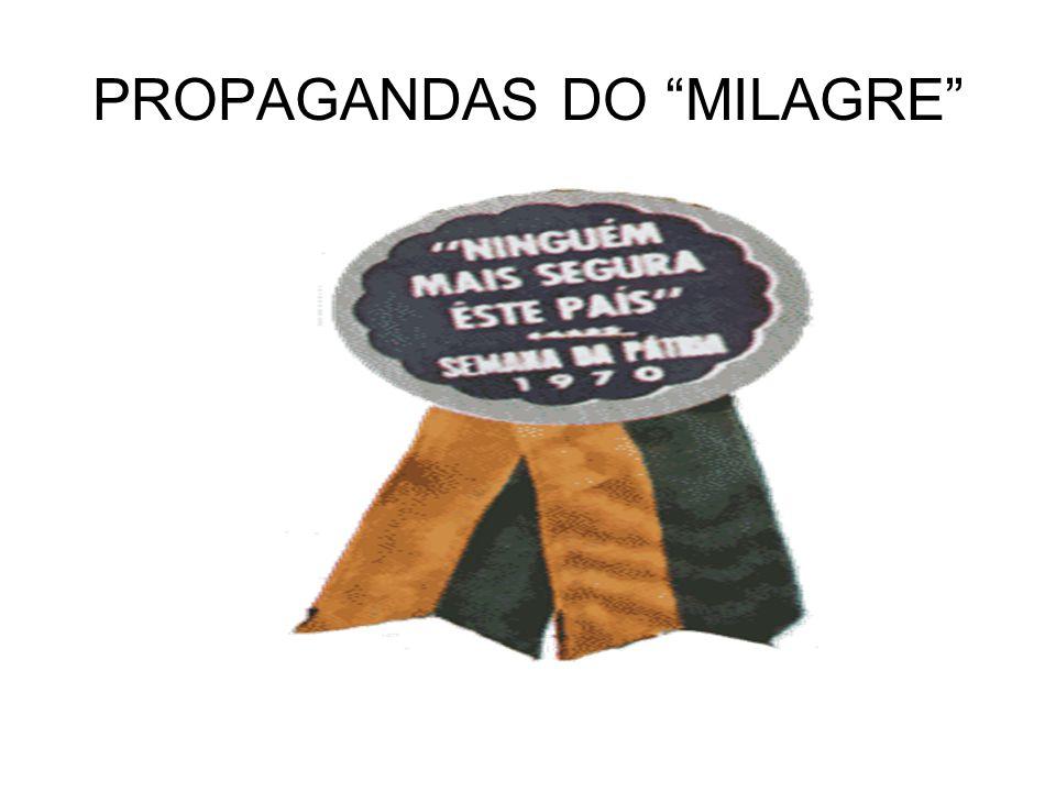 PROPAGANDAS DO MILAGRE