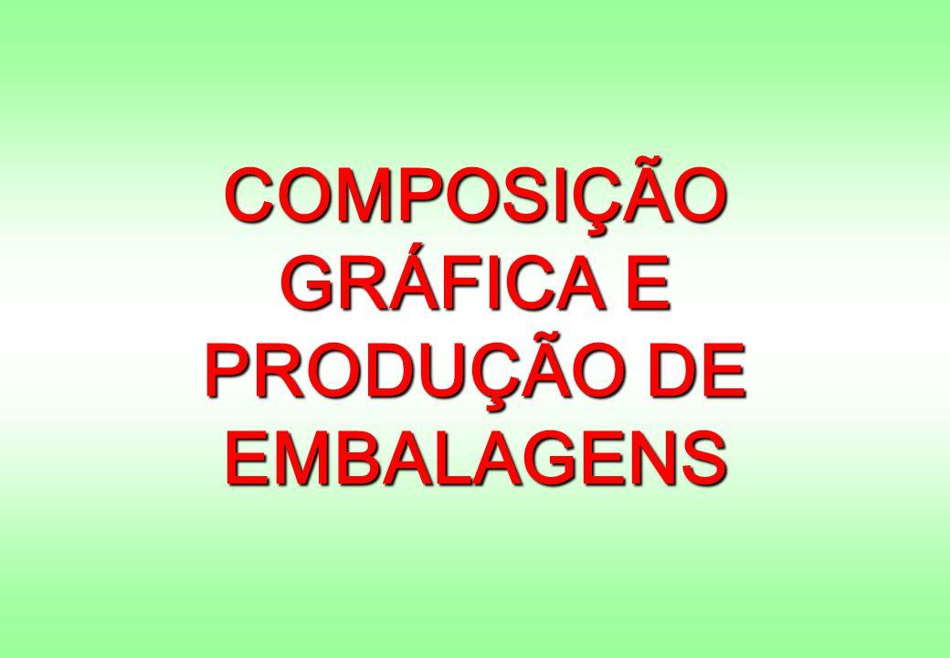 COMPOSIÇÃO GRÁFICA E PRODUÇÃO DE EMBALAGENS