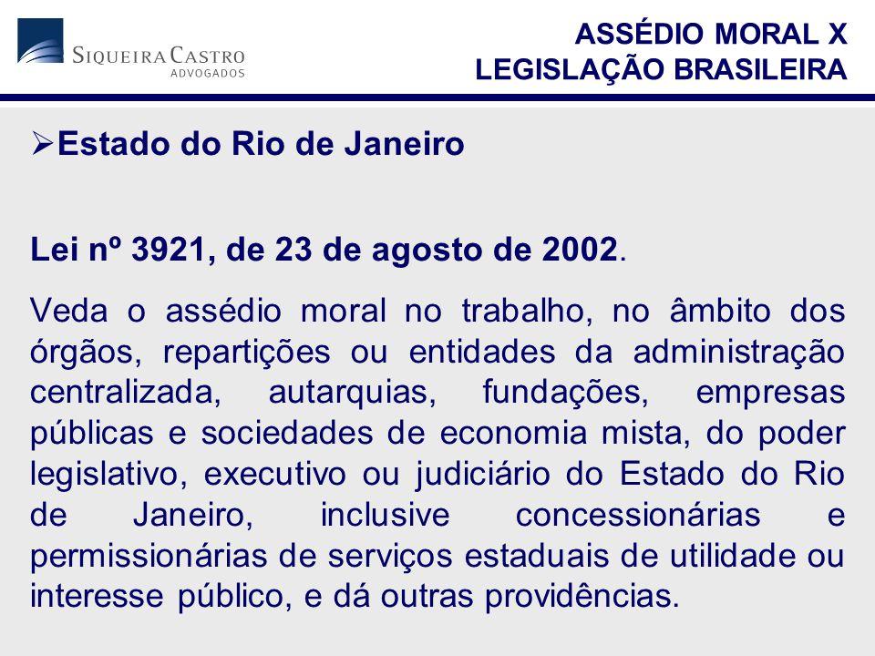 Estado do Rio de Janeiro Lei nº 3921, de 23 de agosto de 2002.