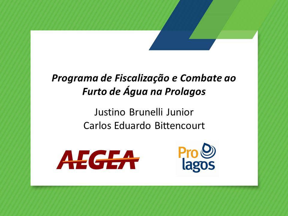 Programa de Fiscalização e Combate ao Furto de Água na Prolagos