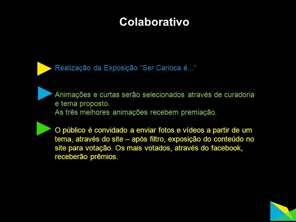 Colaborativo Realização da Exposição Ser Carioca é...