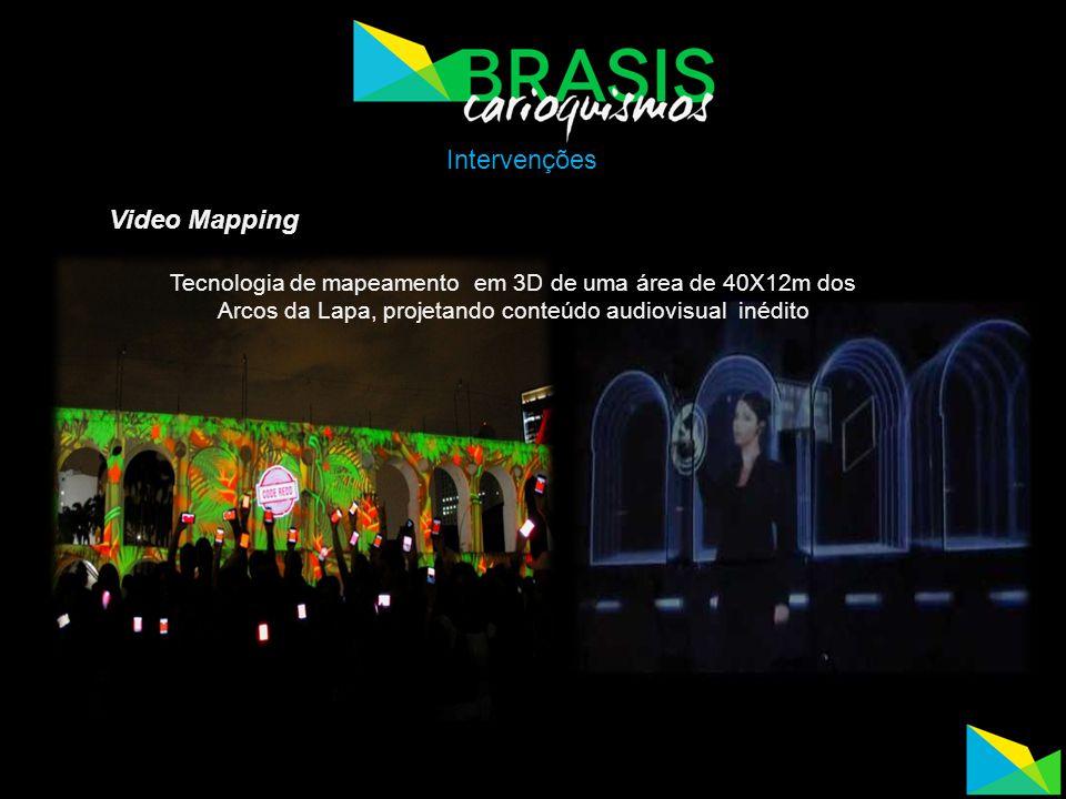 Intervenções Video Mapping