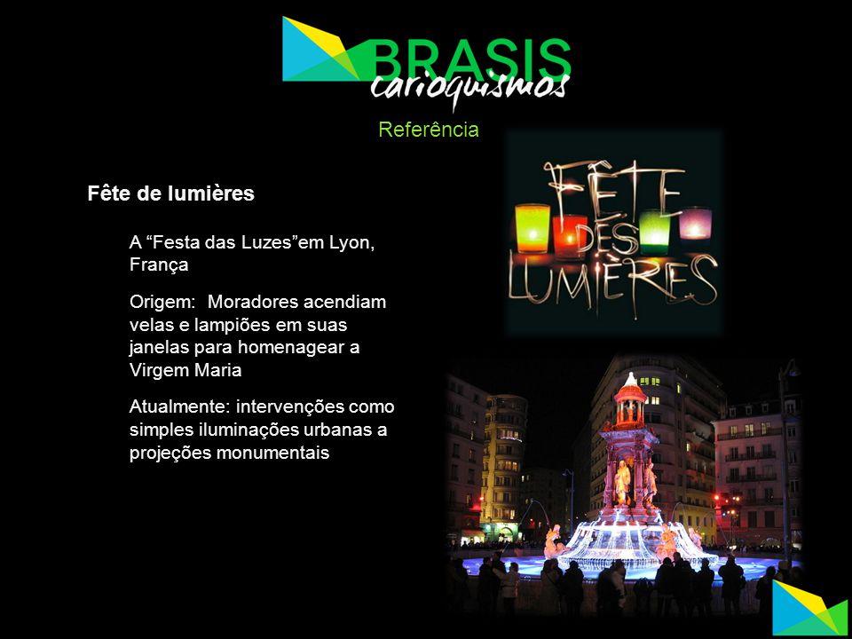 Referência Fête de lumières A Festa das Luzes em Lyon, França