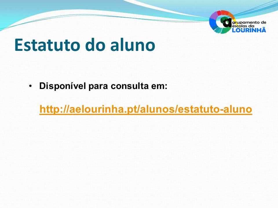 Estatuto do aluno http://aelourinha.pt/alunos/estatuto-aluno