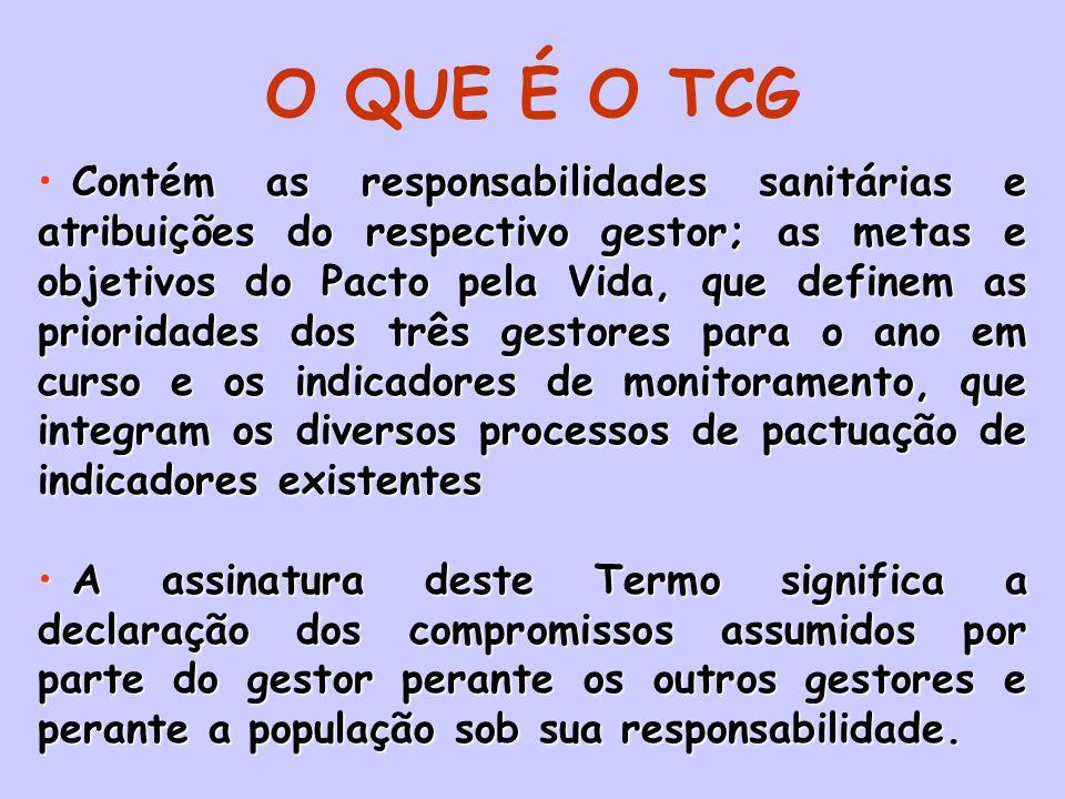 O QUE É O TCG
