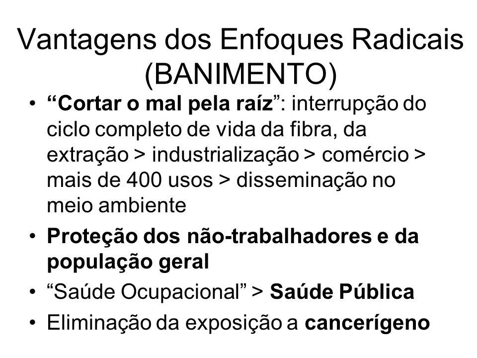 Vantagens dos Enfoques Radicais (BANIMENTO)