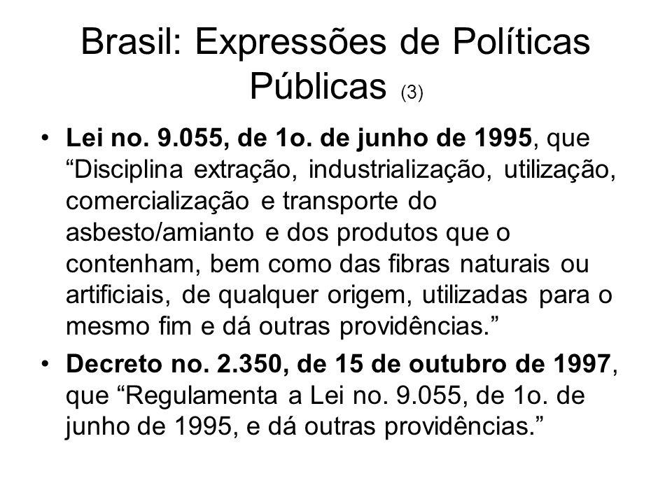Brasil: Expressões de Políticas Públicas (3)