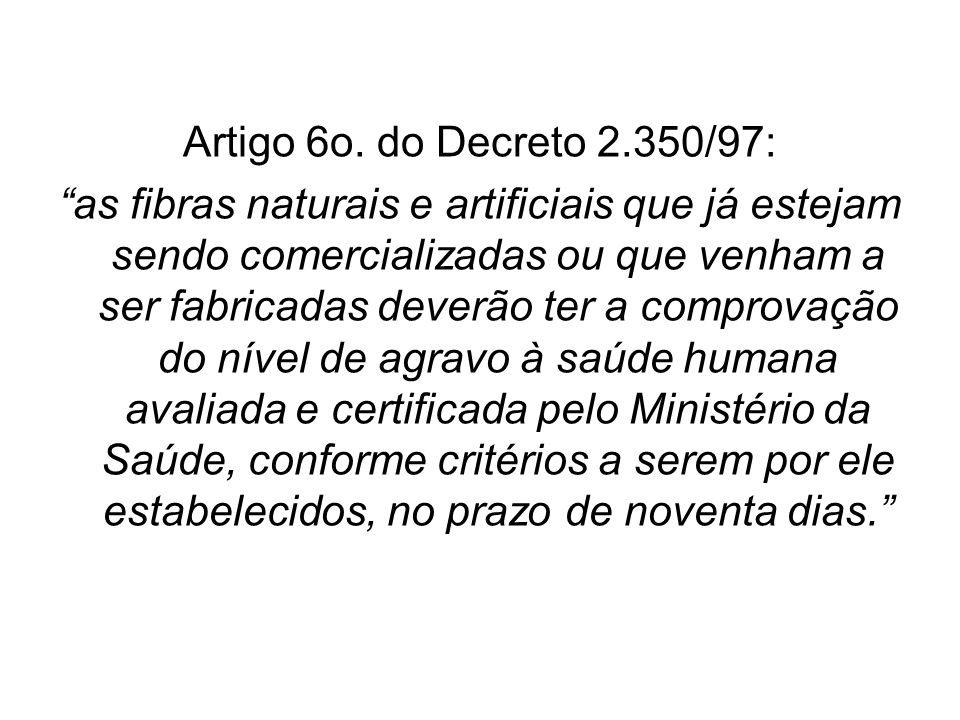 Artigo 6o. do Decreto 2.350/97: