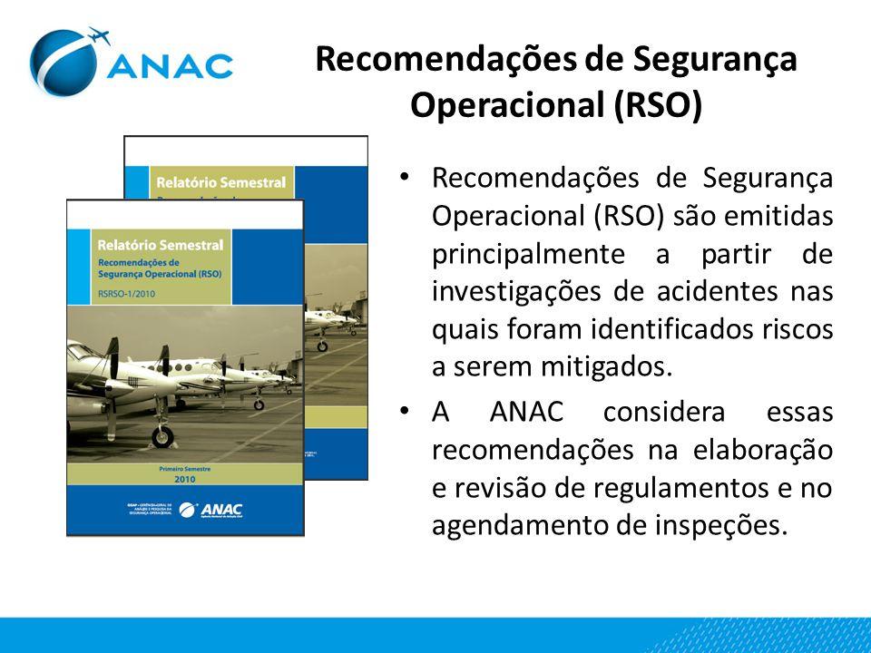 Recomendações de Segurança Operacional (RSO)