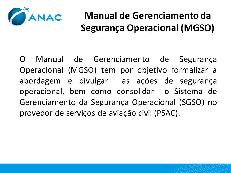 Manual de Gerenciamento da Segurança Operacional (MGSO)
