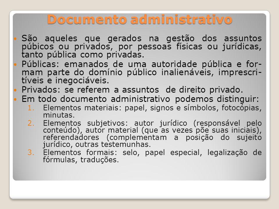 Documento administrativo