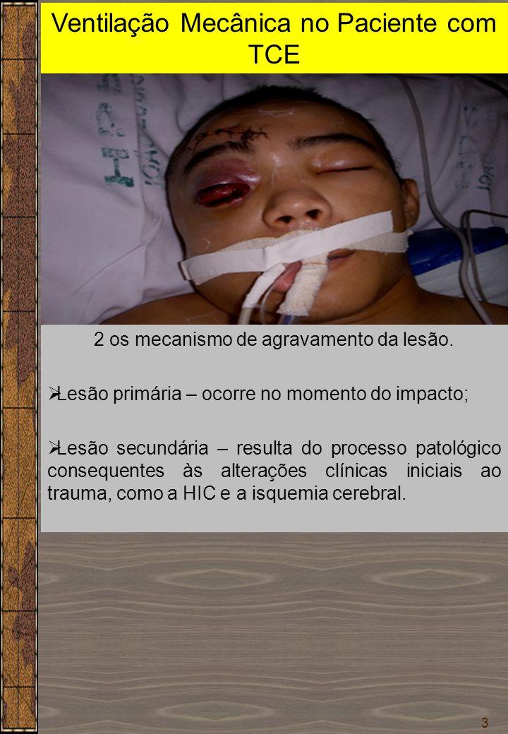 Ventilação Mecânica no Paciente com TCE