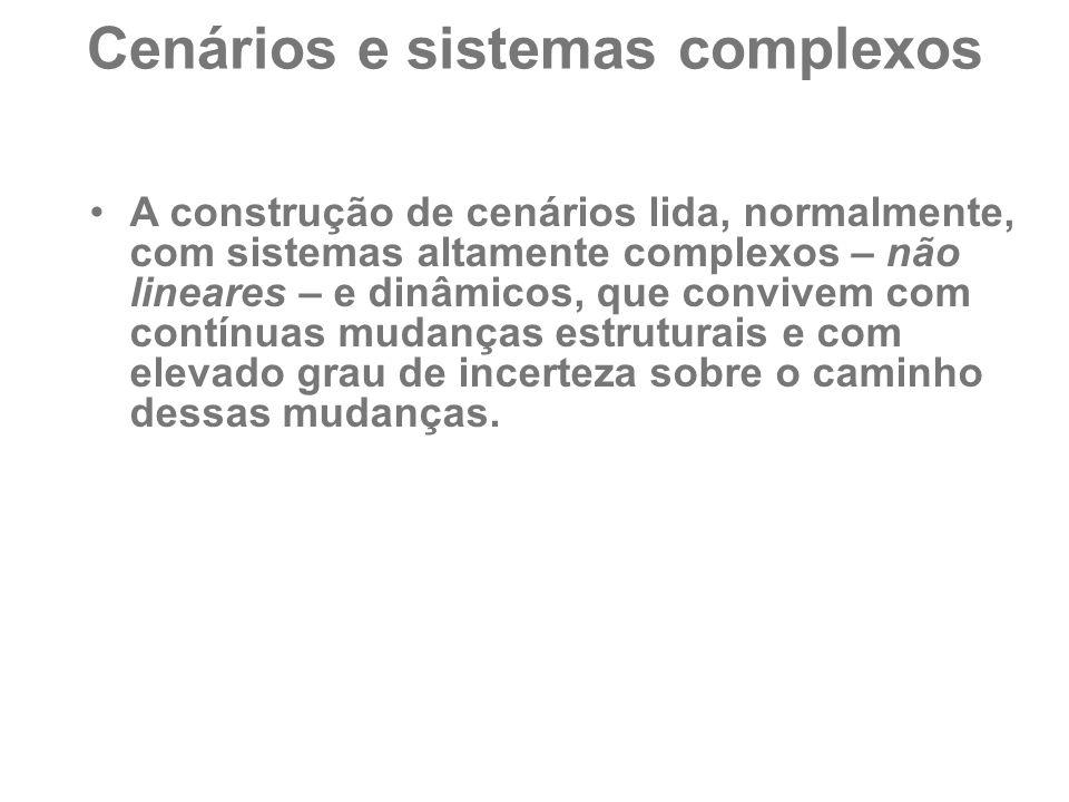Cenários e sistemas complexos