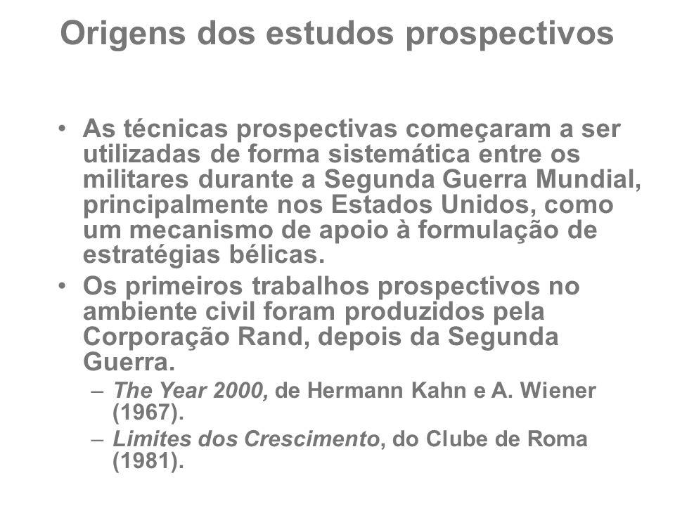 Origens dos estudos prospectivos