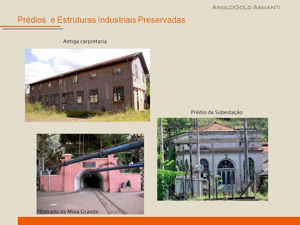 Prédios e Estruturas Industriais Preservadas
