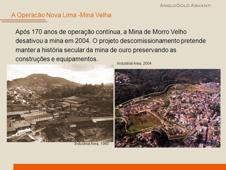 A Operacão Nova Lima -Mina Velha