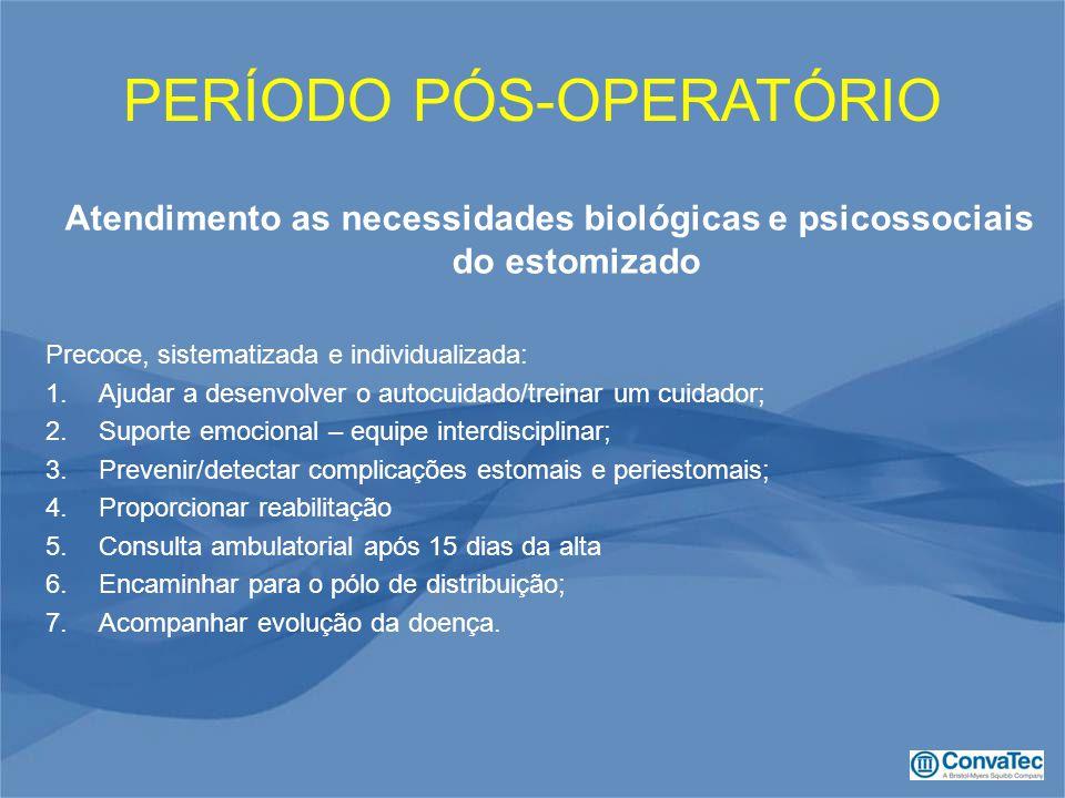 Atendimento as necessidades biológicas e psicossociais do estomizado