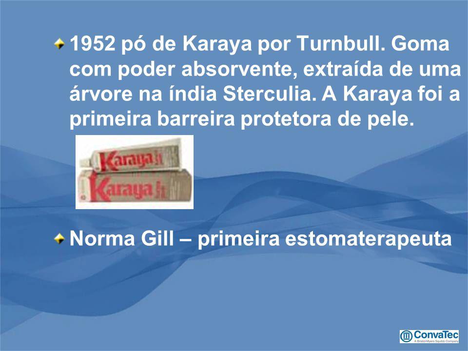 1952 pó de Karaya por Turnbull