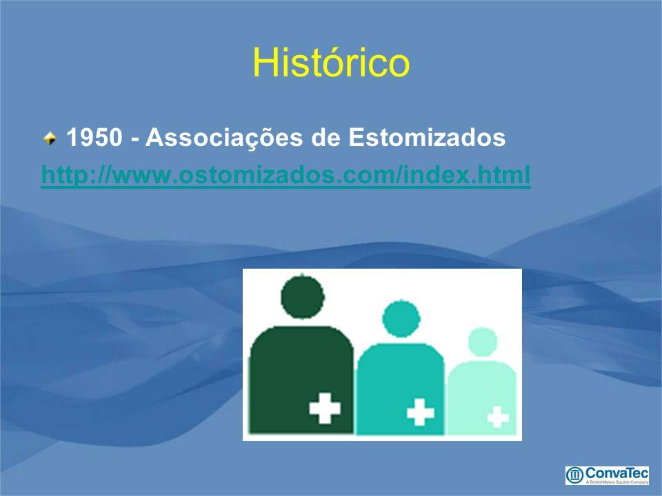 Histórico 1950 - Associações de Estomizados