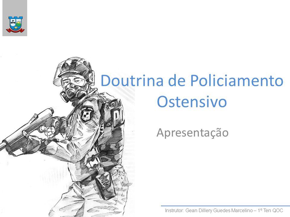 Doutrina de Policiamento Ostensivo