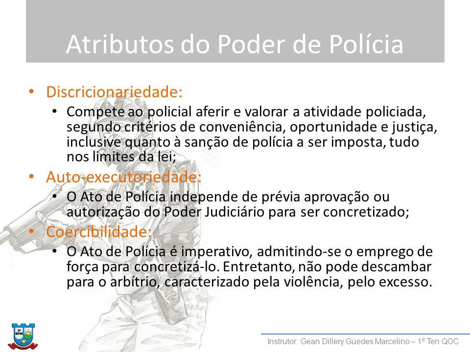 Atributos do Poder de Polícia