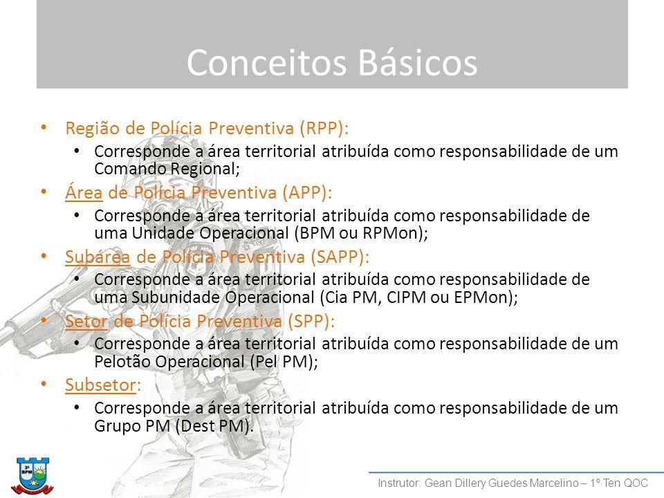 Conceitos Básicos Região de Polícia Preventiva (RPP):