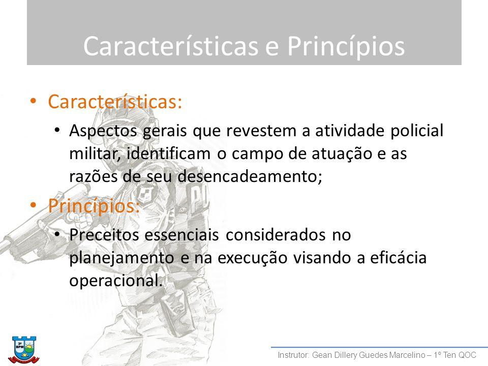 Características e Princípios