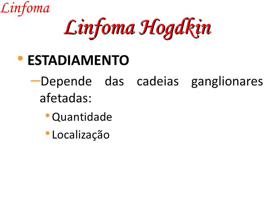 Linfoma Hogdkin Linfoma ESTADIAMENTO