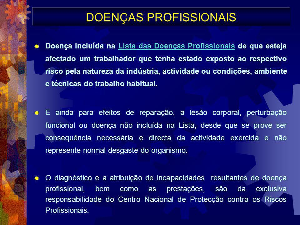 DOENÇAS PROFISSIONAIS