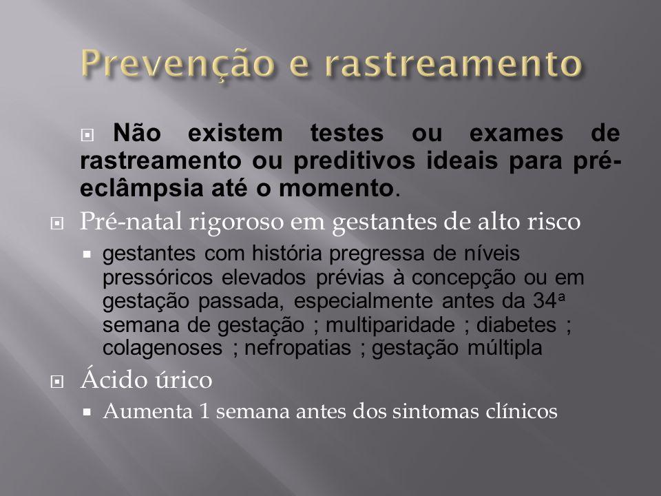 Prevenção e rastreamento