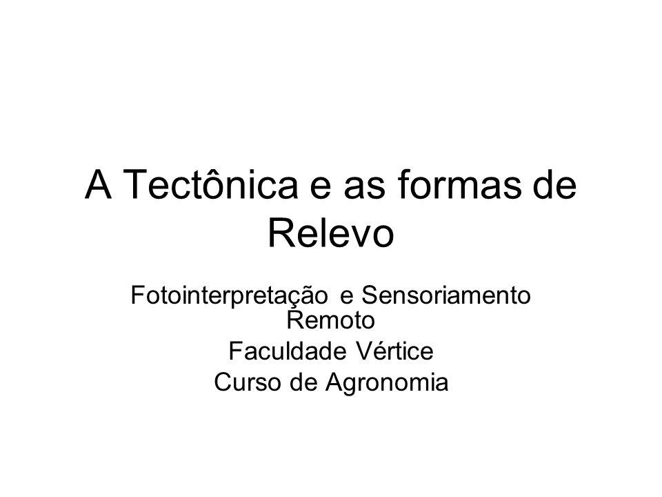 A Tectônica e as formas de Relevo