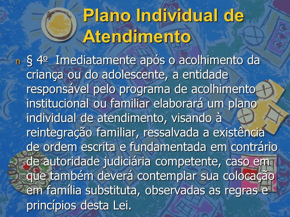 Plano Individual de Atendimento
