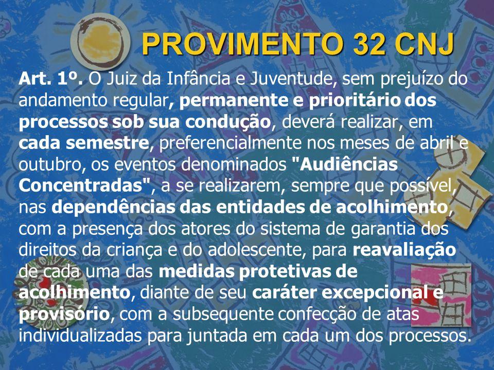PROVIMENTO 32 CNJ