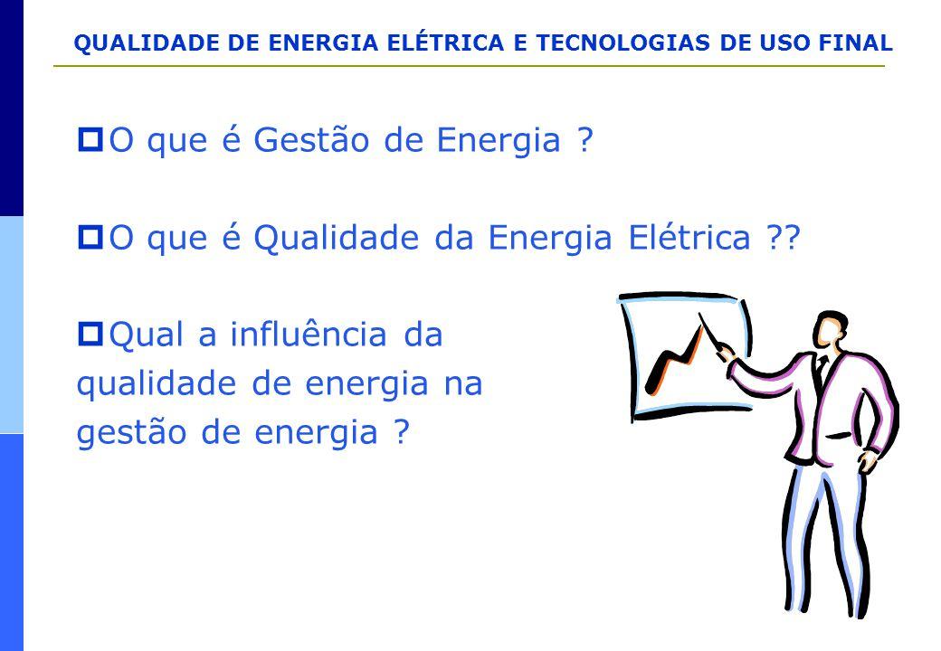 O que é Gestão de Energia
