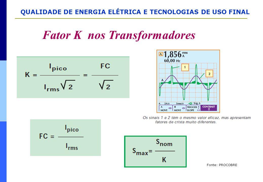 Fator K nos Transformadores