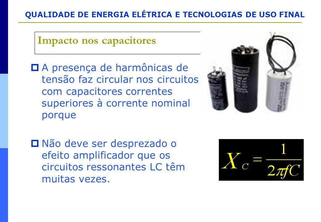 Impacto nos capacitores