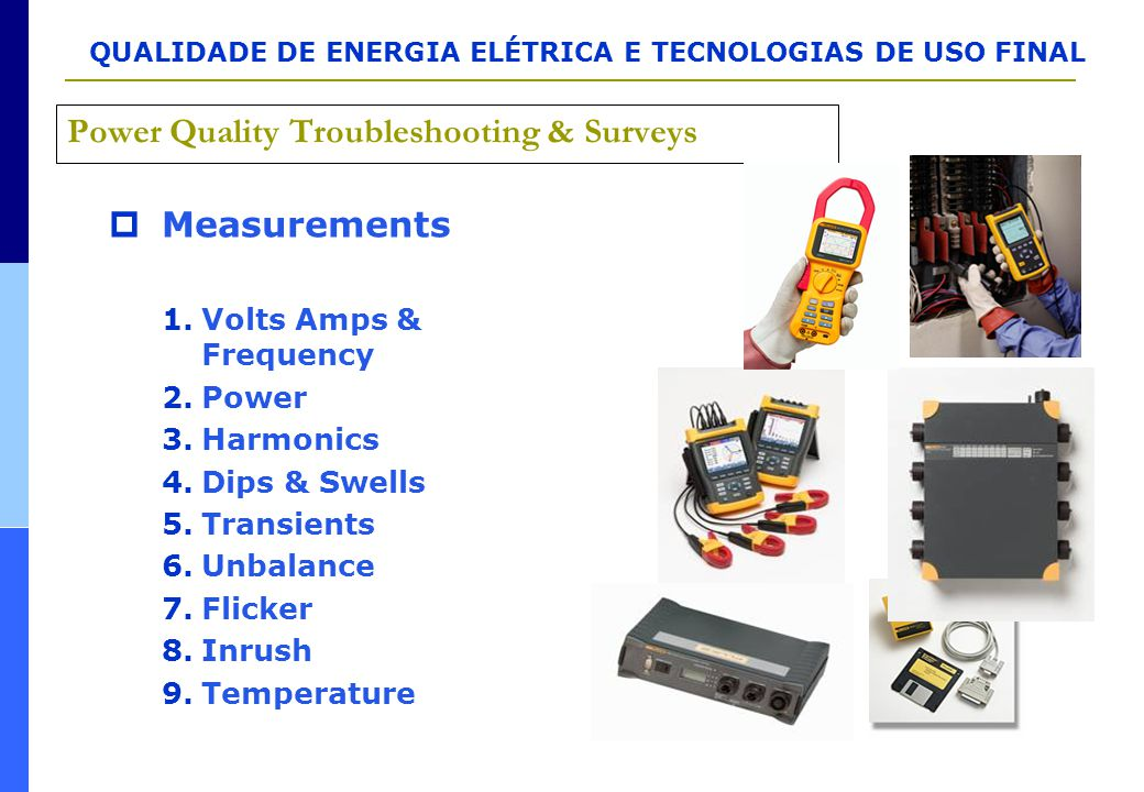 Power Quality Troubleshooting & Surveys