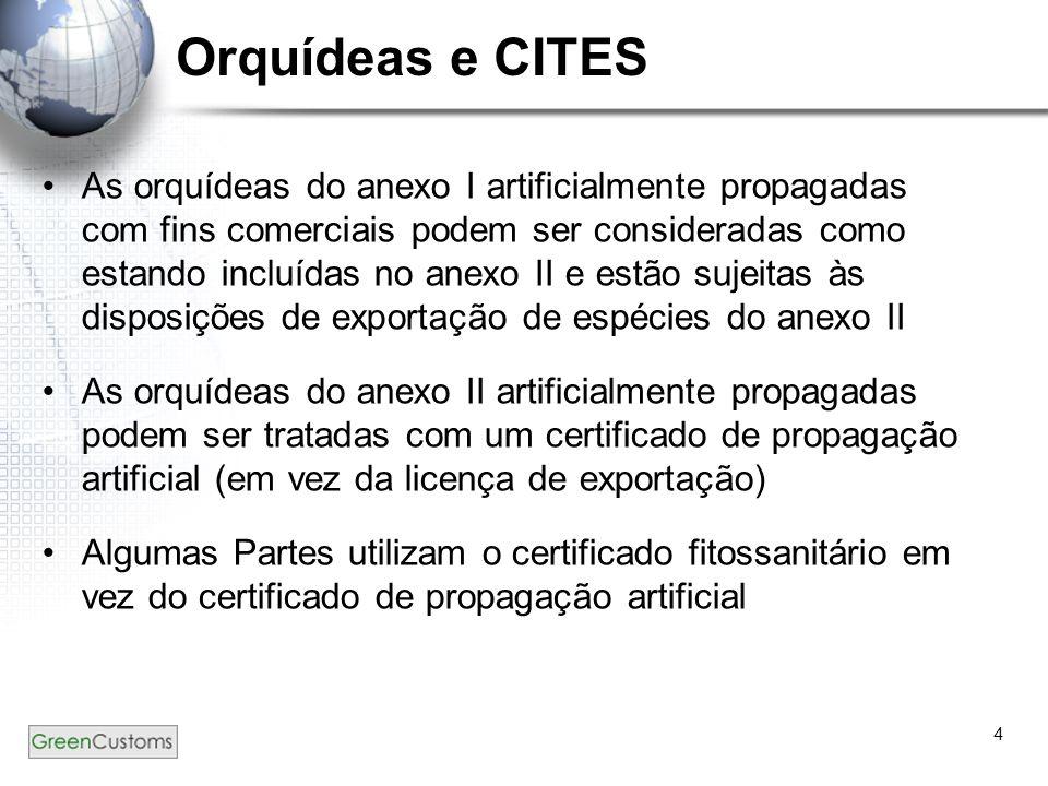 Orquídeas e CITES
