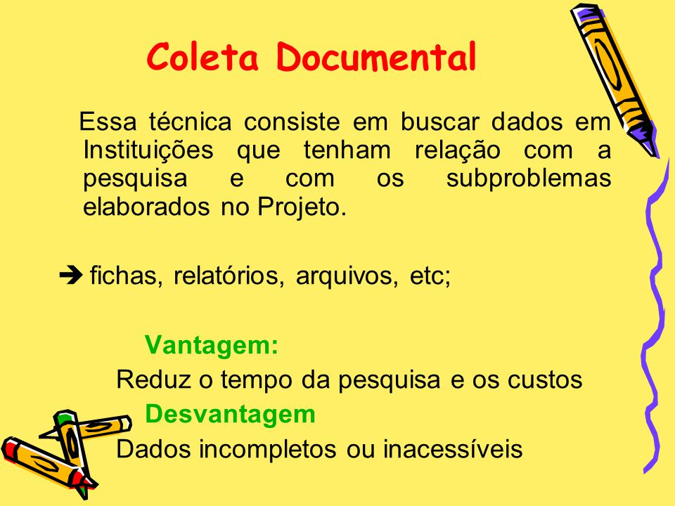 Coleta Documental