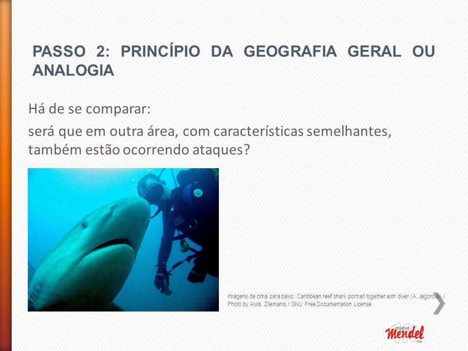 PASSO 2: PRINCÍPIO DA GEOGRAFIA GERAL OU ANALOGIA
