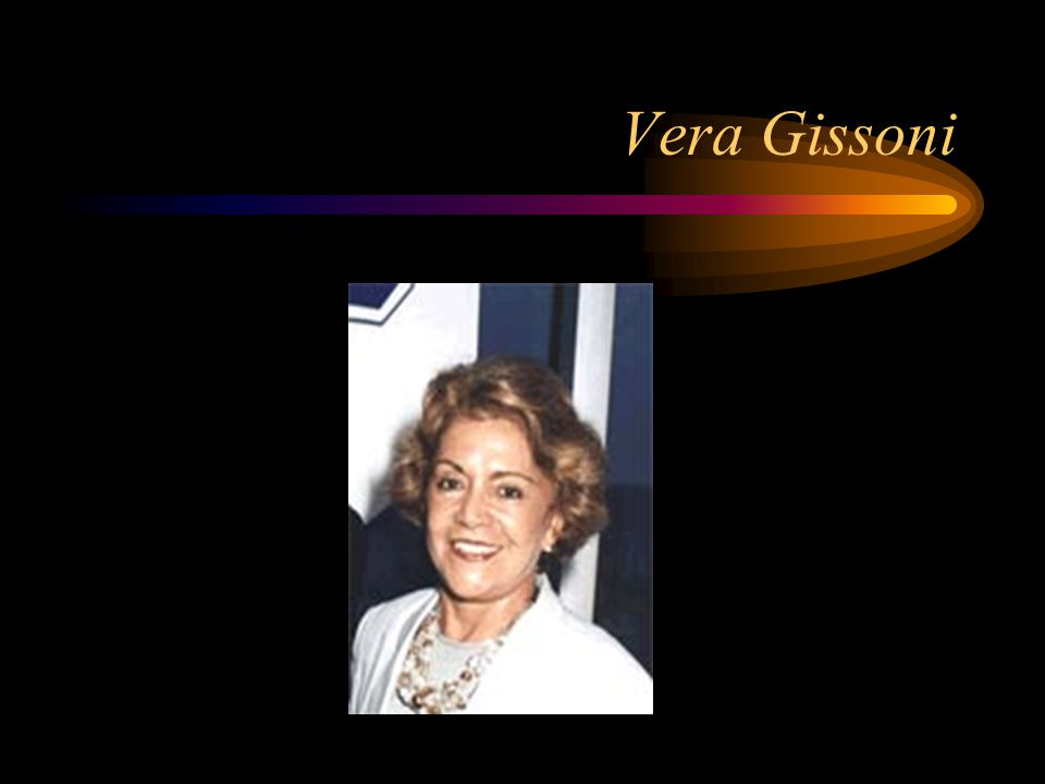 Vera Gissoni